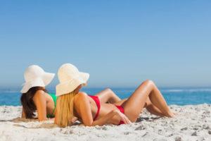 Отдых летом и уход за кожей
