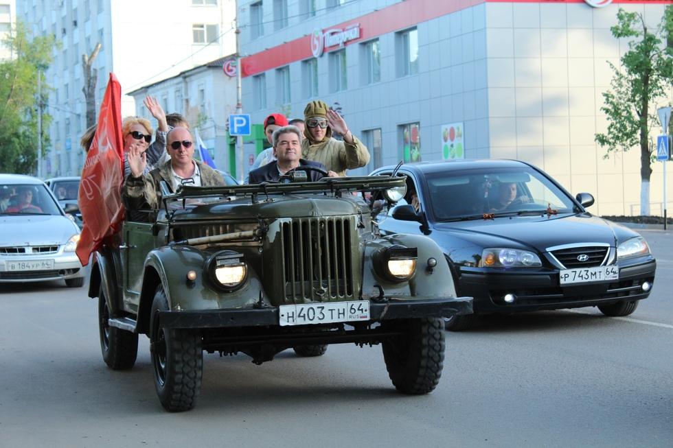 В Балашове состоялся традиционный автопробег, который был под угрозой срыва