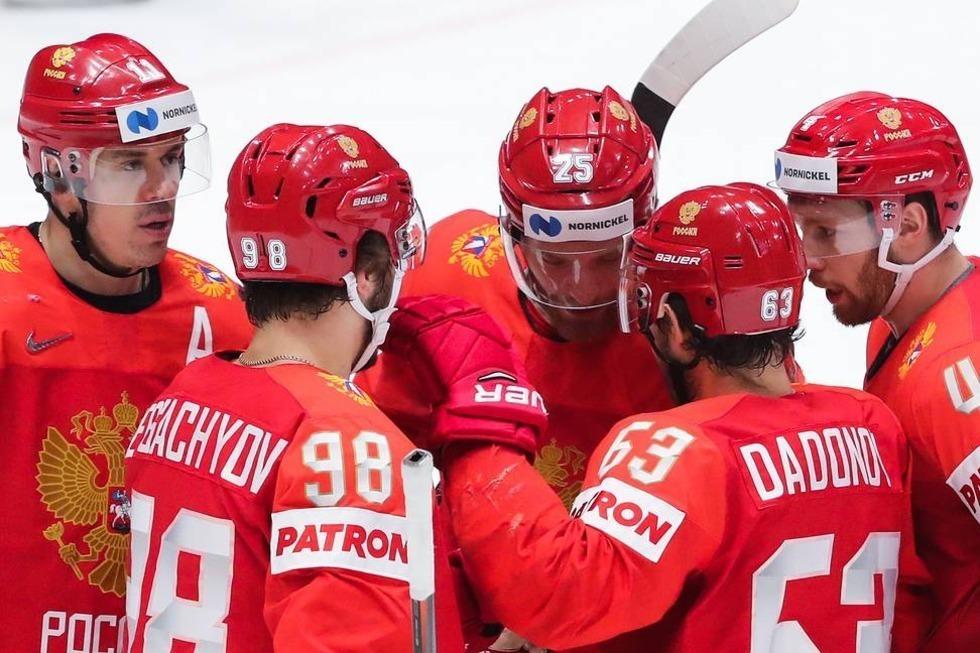 Сборная Россия выиграла медали чемпионата мира по хоккею. Судьба наград решилась в серии буллитов