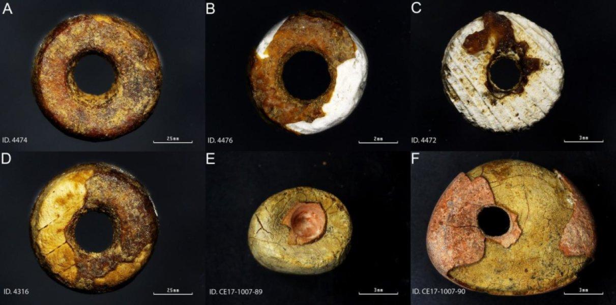Торговцы бронзового века подделывали янтарь