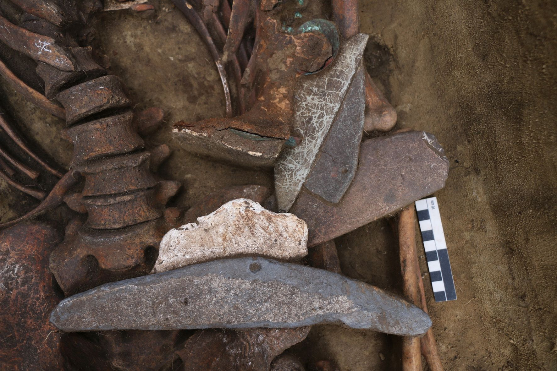 В Сибири нашли погребение шамана-«очкарика»