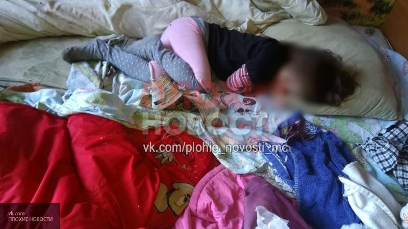 Дети из Петербурга живут в квартире, кишащей клопами и спят на полу