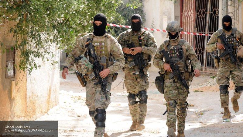 Спецназ нацгвардии Туниса захватил террориста живьем