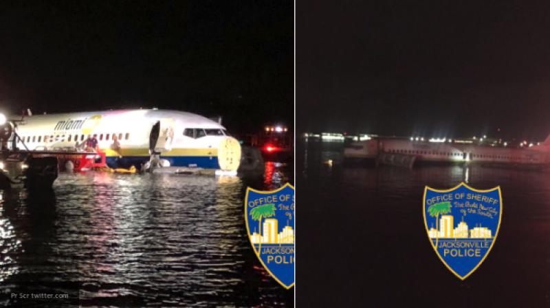 На борту приводнившегося в США самолета находились 143 человека