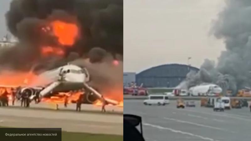На борту SSJ-100 выжили 33 пассажира и четыре члена экипажа