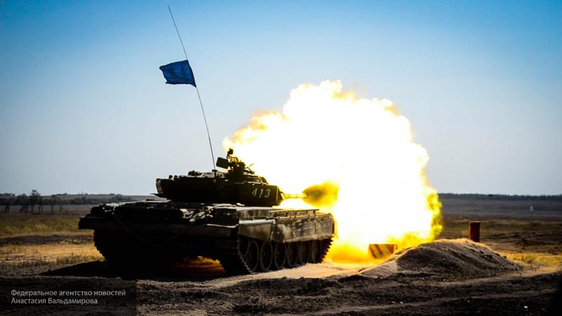 Сирийские танки примут участие в биатлоне в России
