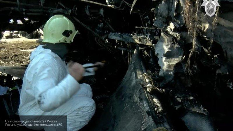 Бортовой самописец сгоревшего самолета SSJ-100 сильно поврежден