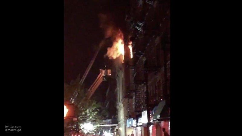 Пожар в Нью-Йорке унес жизни четверых детей