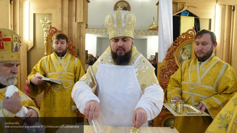 """На Украине между Филаретом и главой """"новой церкви"""" произошел конфликт"""