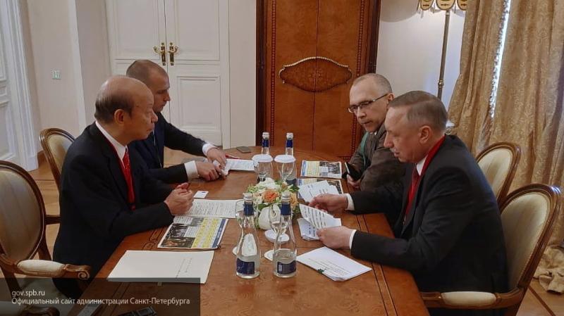Беглов рассказал о планах открыть офисы Visit Petersburg в Японии