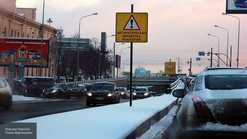 В России хотят снизить скорость движения автомобилей зимой