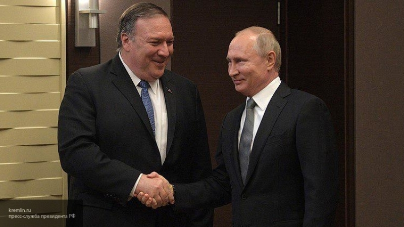Лавров после встречи Путина и Помпео заявил, что РФ не пойдет на уступки США из вежливости