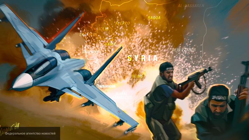 """Террористы пытались атаковать авиабазу """"Хмеймим"""" в Идлибе"""