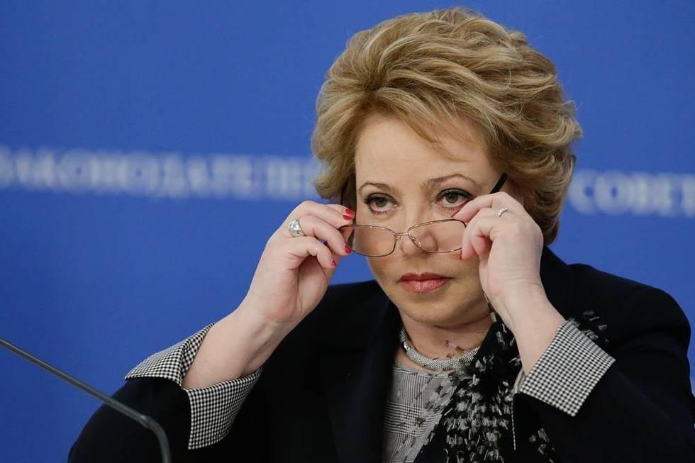Валентина Матвиенко предложила защищать россиян, попавших в беду за рубежом, за счет бюджета