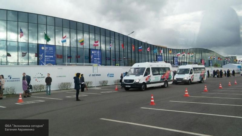 ПМЭФ-2019 затруднит движение в Петербурге
