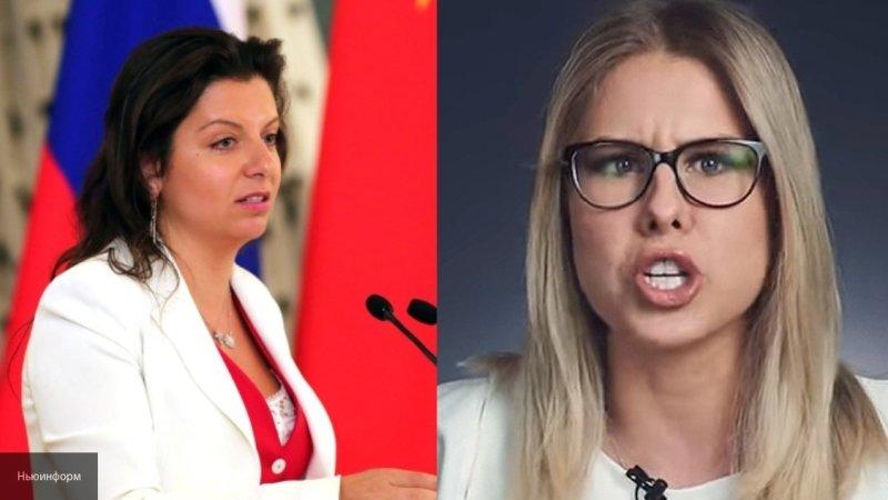Скабеева поддержала Симоньян в скандале с Соболь