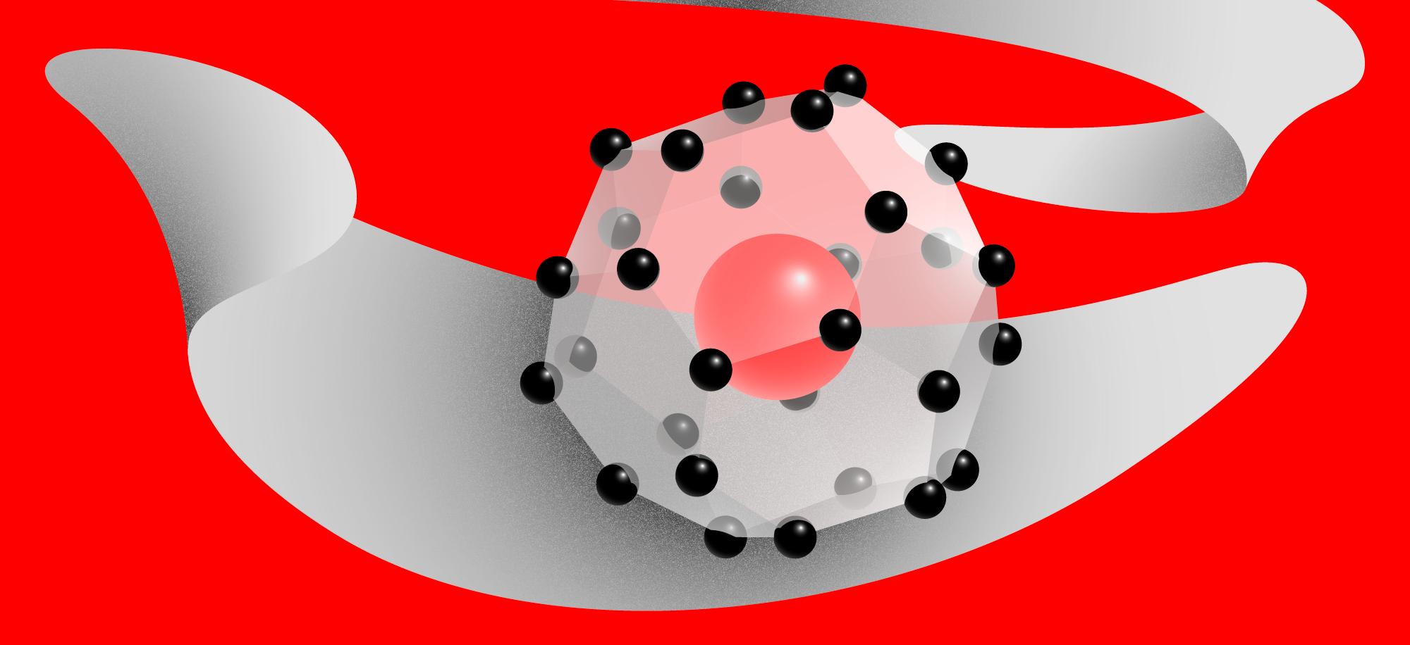 Один церий и девять водородов