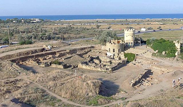 Археологи открыли въезд в крепость Митридата VI