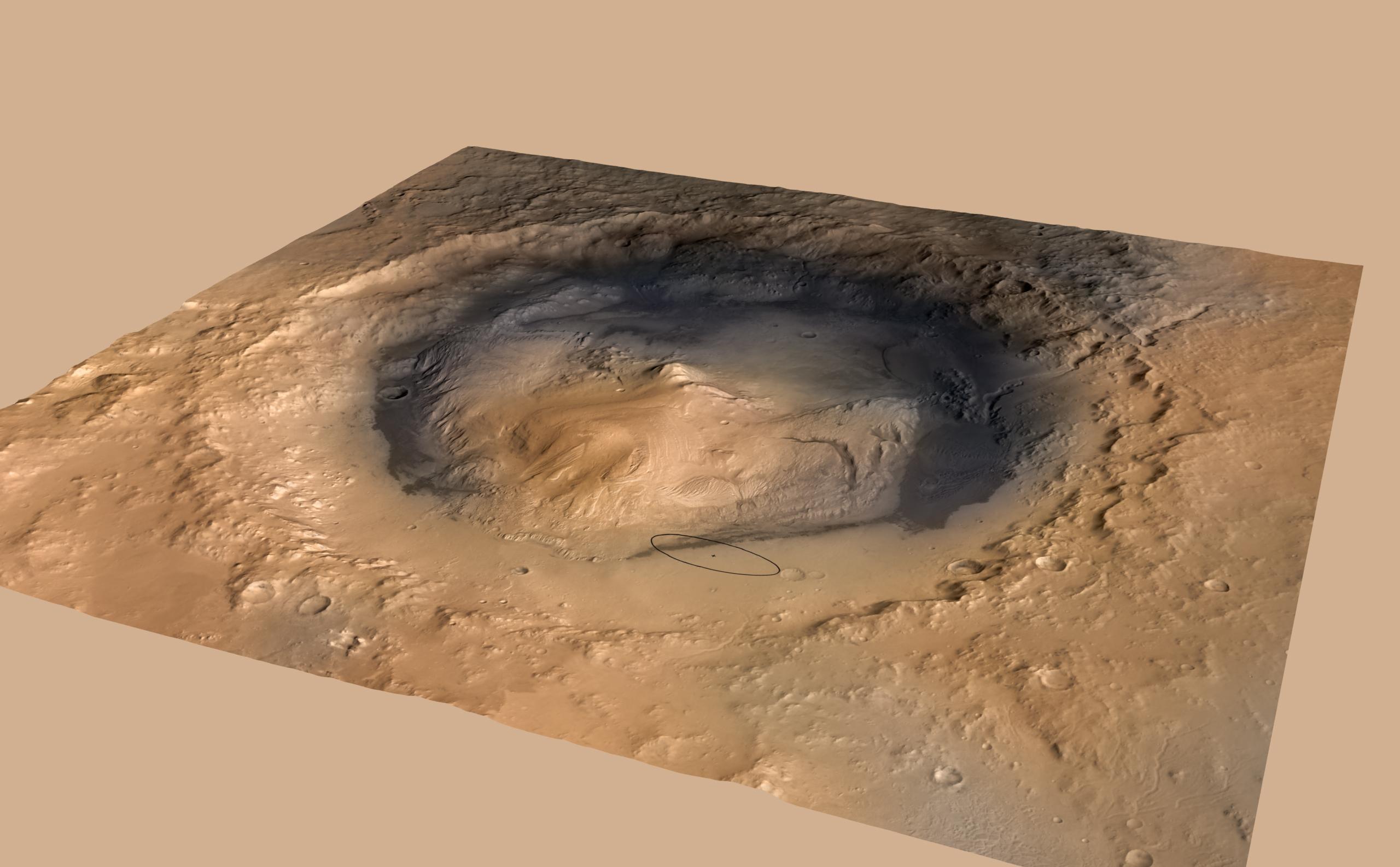 Марсианские озёра были похожи на земные