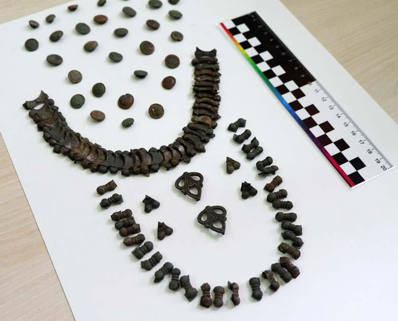В Астраханской области нашли редкие нашивки огузов