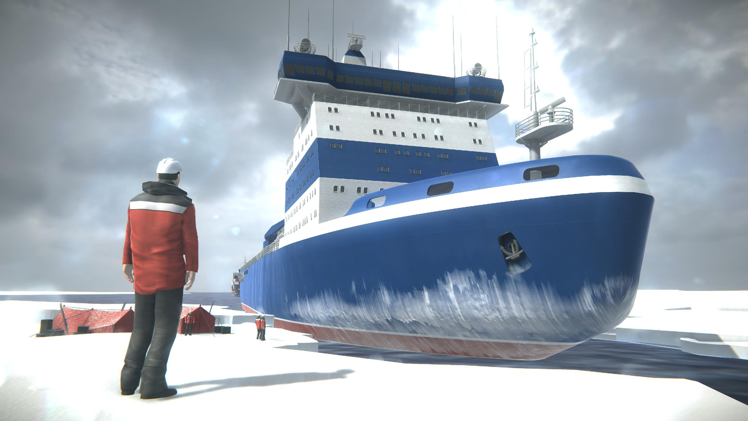AR-проект «Как это устроено. Атомный ледокол «Арктика» – претендент на победу в Национальной премии «ДВА ПОЛЮСА»