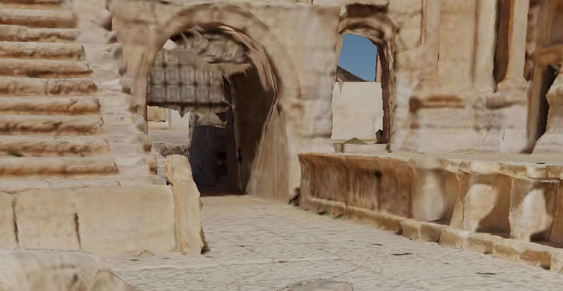 На древнюю Пальмиру можно посмотреть в 3D