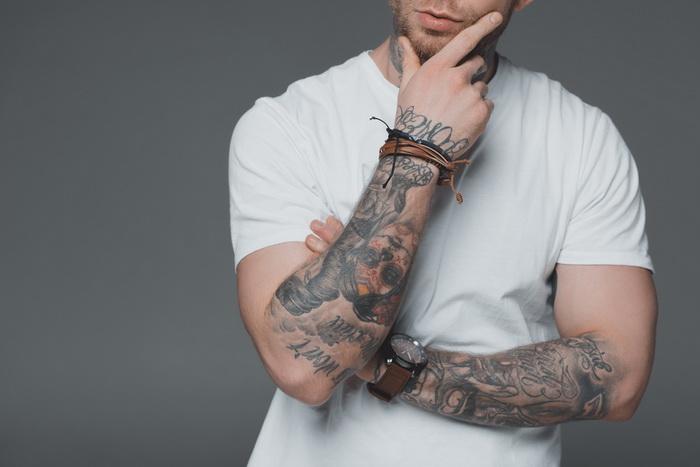 Татуировки мешают потеть