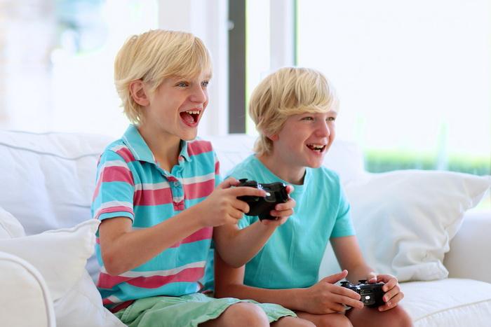Мальчики с видеоиграми меньше впадают в депрессию