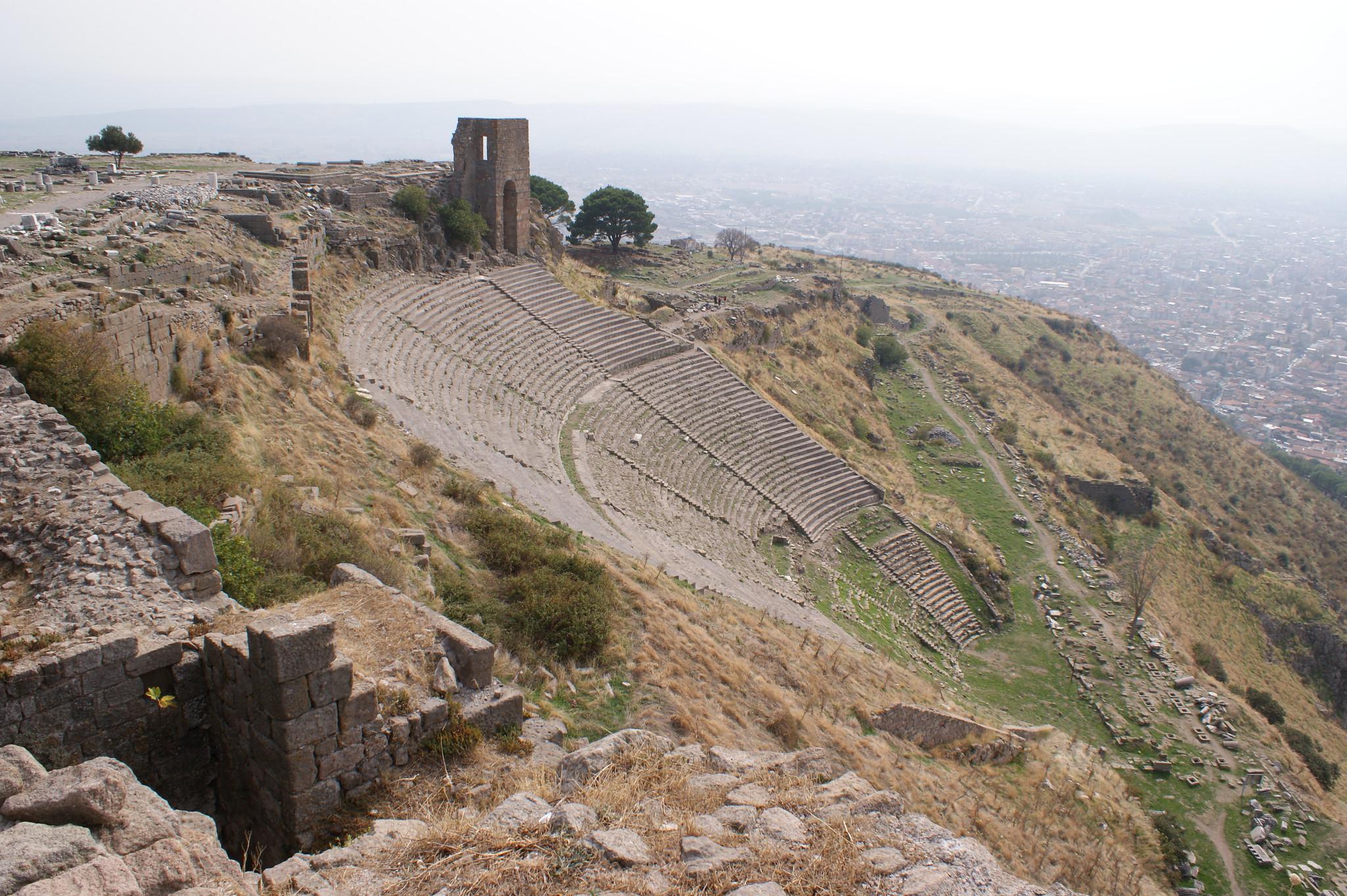 Археологи составили подробную карту Пергама