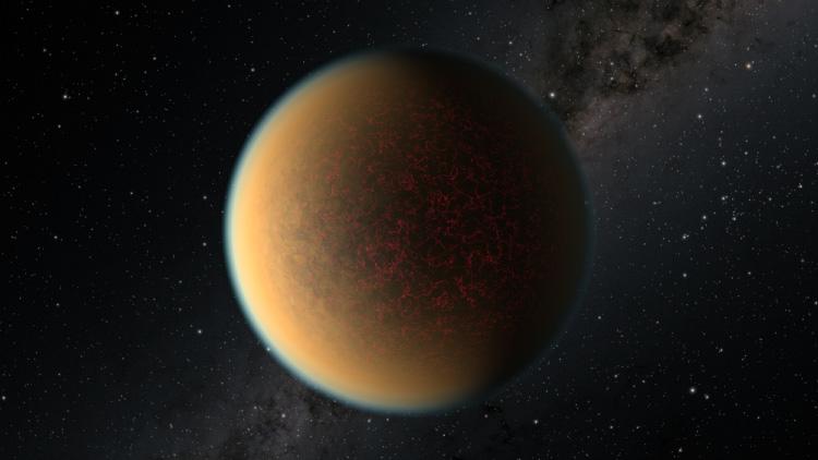 Вернуть атмосферу экзопланете помогли вулканы