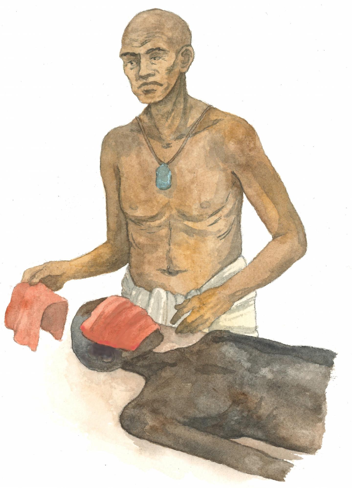 Древнеегипетский папирус сохранил рецепт бальзамирования лица